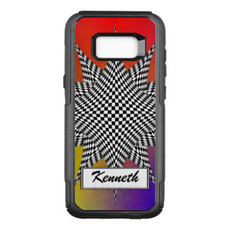 Modern Plasma by Kenneth Yoncich OtterBox Commuter Samsung Galaxy S8+ Case
