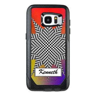 Modern Plasma by Kenneth Yoncich OtterBox Samsung Galaxy S7 Edge Case