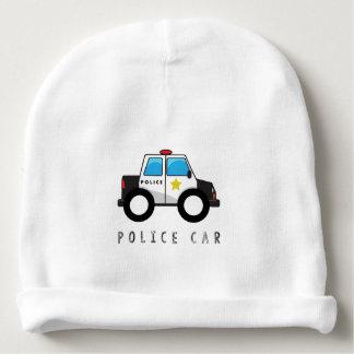 Modern Police Car Design Baby Beanie