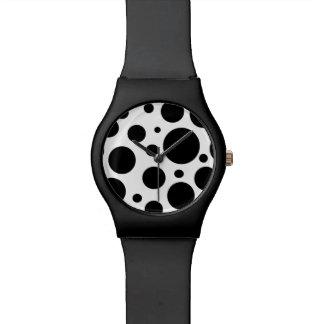 Modern Polka Dot Wristwatch