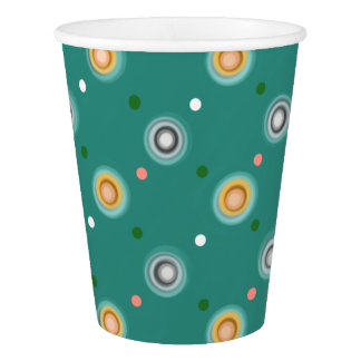 Modern Polka Dotted Paper Cup