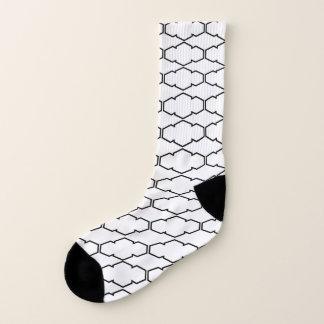 Modern Polygon pattern Socks 1
