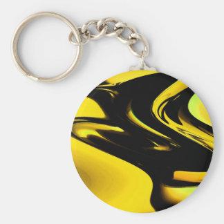 Modern Pop Art Keychain