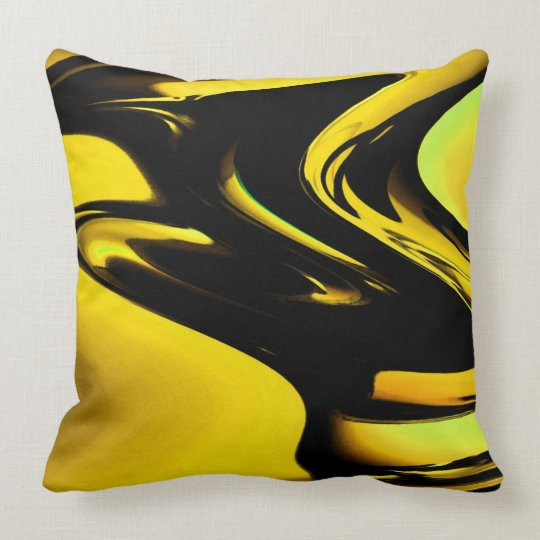 Modern Pop Art Throw Pillow