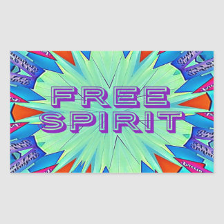 Modern Pop Colors Arrows Pointing Free Spirit Sticker