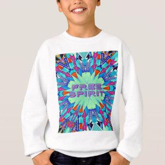 Modern Pop Colors Arrows Pointing Free Spirit Sweatshirt