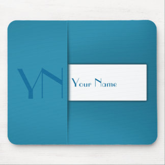 Modern Professional Blue Case - Mousepad