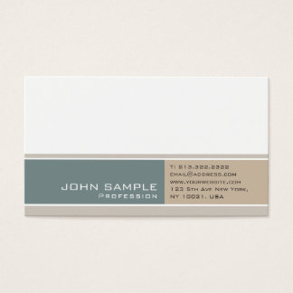 Modern Professional Elegant Color Harmony Luxe Business Card