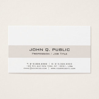 Modern Professional Elegant Harmonic Colors Business Card
