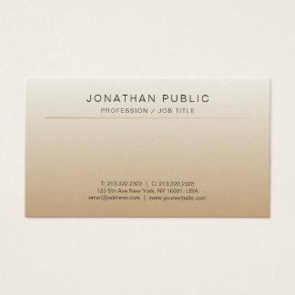 Modern Professional Elegant Luxe Soft Silk Finish Business Card