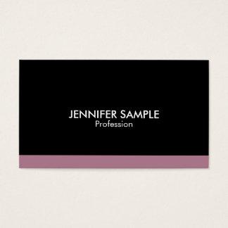 Modern Professional Elegant Simple Design Business Card