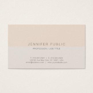 Modern Professional Elegant Trend Design Stylish Business Card