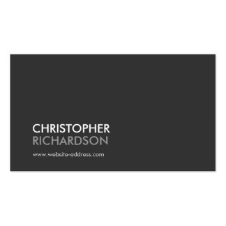MODERN PROFESSIONAL No. 1 Business Card