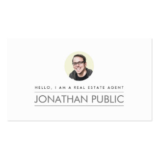 Modern Professional Real Estate Business Card