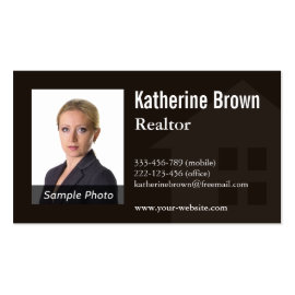 Modern Professional Real Estate Realtor Photo
