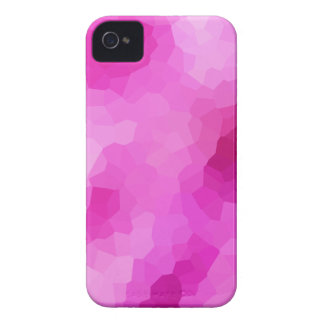 Modern Purple and Pink Stained Glass Mosaic iPhone 4 Case-Mate Case
