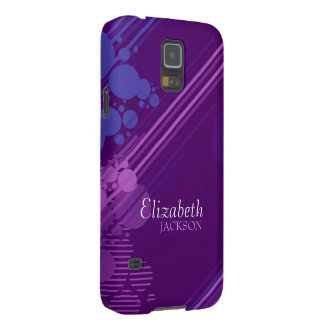 Modern Purple Grunge Samsung Galaxy Nexus Case