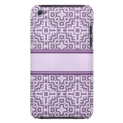 Modern Purple Lace Case-Mate iPod Touch Case