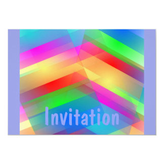 Modern Rainbow Abstract Card