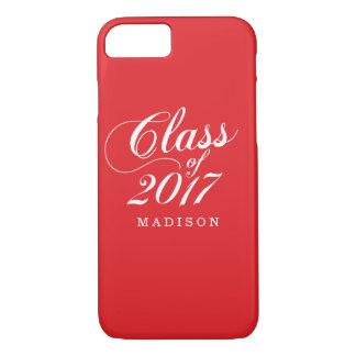 Modern Red | Graduation iPhone 7 Case