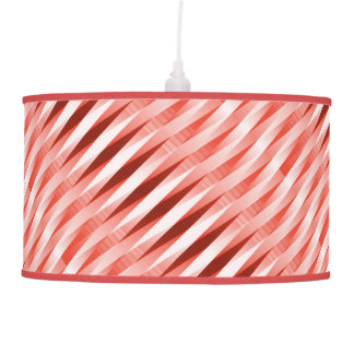 Modern Red Pattern Shade only - please see notes Pendant Lamps