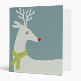 Modern Reindeer Holiday Binder