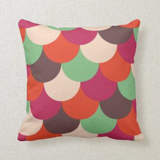 Modern Retro decorative pillow 70s 60s style