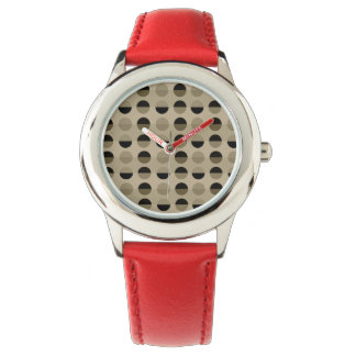 Modern Retro Polka Dots Cool Trendy Geometric Watch