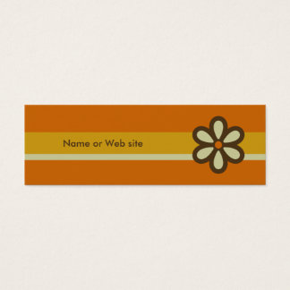 Modern Retro Profile Card - Social Networking Card