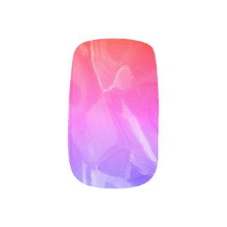 Modern Romantic Nail Art design