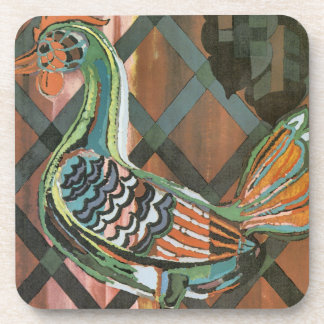 Modern Rooster Coaster