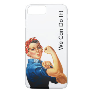 Modern Rosie the Riveter iPhone 7 Plus Case