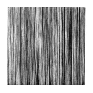 Modern rustic black gray wood grain pattern tile