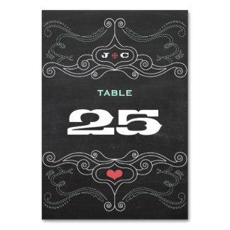 Modern Rustic Chalkboard Typography Wedding Card