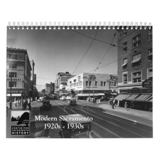 Modern Sacramento, 1920s - 1930s Wall Calendars