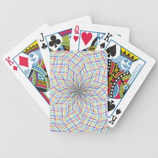 Modern sample bicycle playing cards
