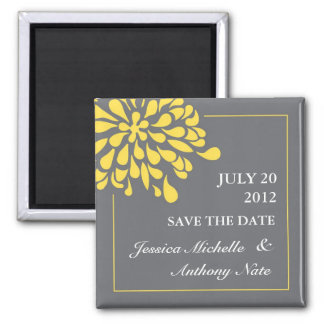 Modern Save the Date Magnet