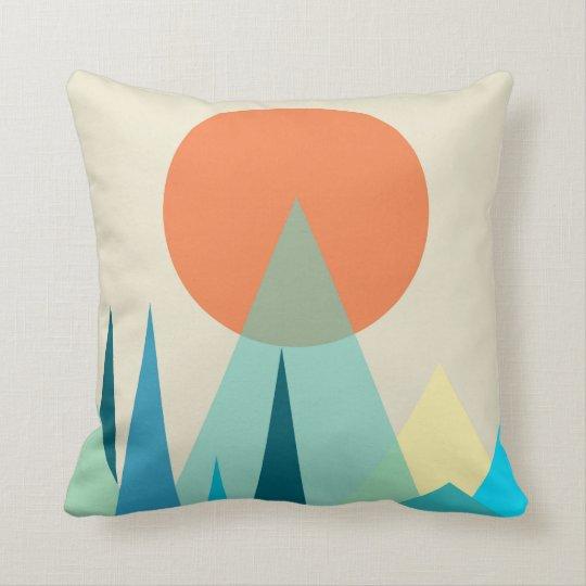 Modern Scandinavian Style Throw Pillow
