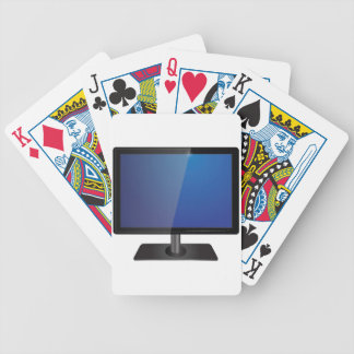 modern screen bicycle playing cards