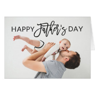 Modern Script | Father's Day Card