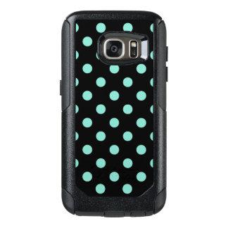 Modern Sea Foam Colored Polka Dots Pattern OtterBox Samsung Galaxy S7 Case