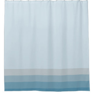 Modern Shades of blue teal colors stripes border