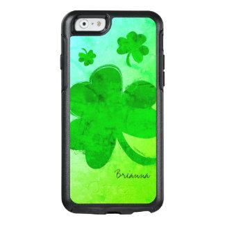 Modern Shamrock Personalized iPhone 6/6S Case