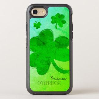 Modern Shamrock Personalized iPhone 7 Case