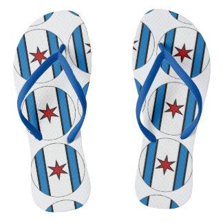 Modern Shield Flip Flops