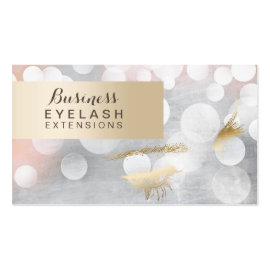 Modern Silver & Gold Eyelash Extensions