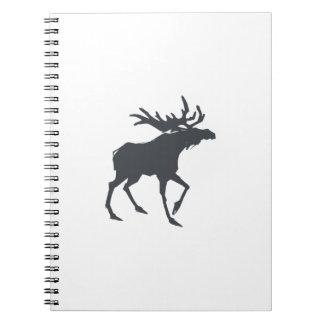 Modern, Simple & Beautiful Hand Drawn Antler Notebooks