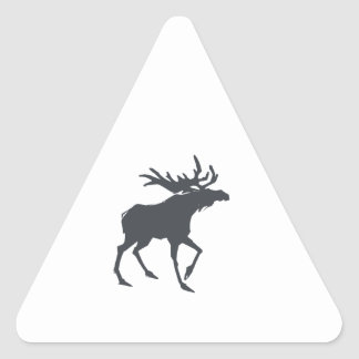 Modern, Simple & Beautiful Hand Drawn Antler Triangle Sticker