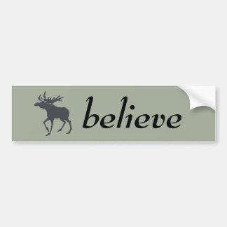 Modern, Simple & Beautiful Hand Drawn Deer Bumper Sticker