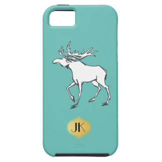 Modern, Simple & Beautiful Hand Drawn Deer Case For The iPhone 5